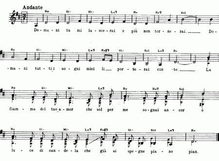 valzer delle candele testo theme pagina 3 di 4 easy sheet