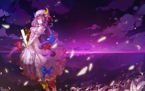 purple anime wallpaper purple anime wallpaper
