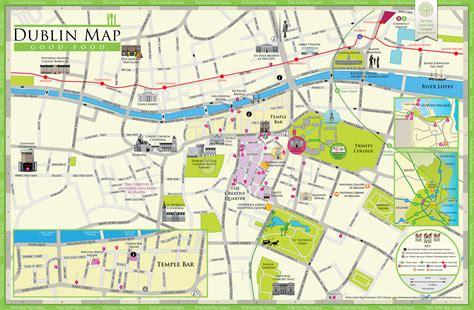 printable map dublin city centre pretty useful map co new dublin roundtripticket me