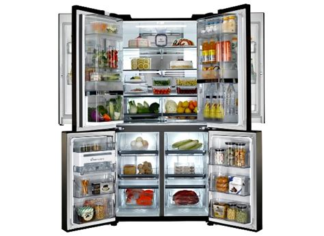 oversized refrigerator high capacity large refrigerators get more family friendly