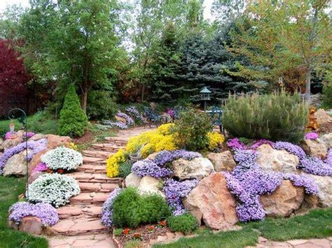 realizzare giardino roccioso realizzare un giardino roccioso 20 esempi bellissimi