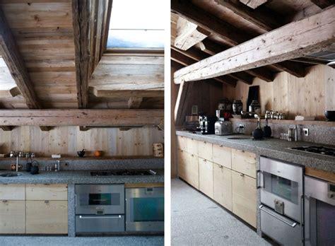 Interior Chic Chalet Du Golf Design Interior In Kitchen Rustic Minimalist House Plans