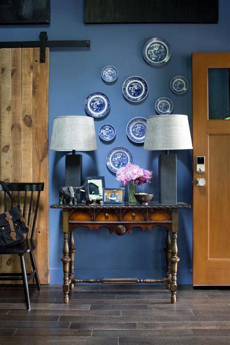 ways  decorate  slate blue hgtv