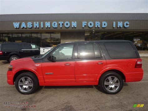 ford expedition red 2008 ford expedition funkmaster flex limited 4x4 in