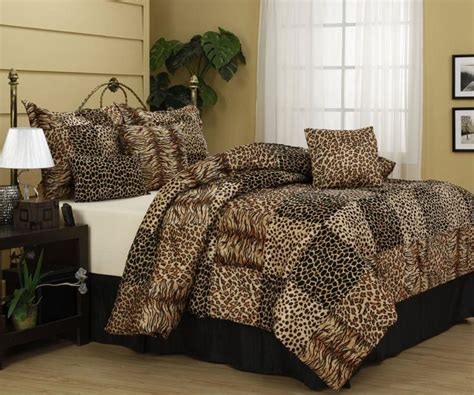 10 Amazing Bedrooms With Cheetah Bedding Print Rilane Cheetah Print Bedding