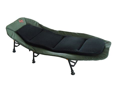 Fishing Camping Bed Chair Bedchair 6 Adjustable Legs Inner
