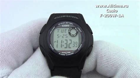 Jam Tangan Casio F 200w casio f 200w 1a