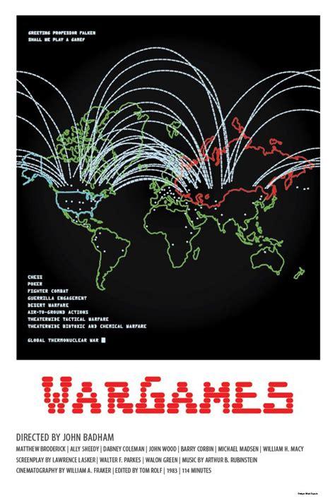 Wargames 1983 Film Wargames By Matt Dupuis Posters Movie Art Pinterest