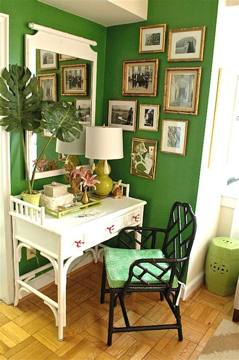 how to decorate green walls shades of green a verdant decorating palette