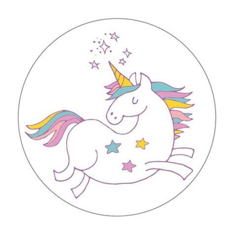 etiquetas adhesivas para regalos quot unicornios quot 24 piezas