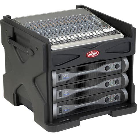 Skb Dj Rack by Skb Cases 1skb19 R1006 Roto Molded Mini Gigrig Mixer Rack