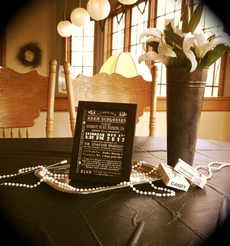 20s themed decorations awesome roaring 20s decorations 6 roaring 20s