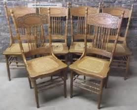 Dining Chair Seats Set Of 6 Antique C1900 Victorian Press Back Oak Dining Chairs Caned Seats Look 1 Lgw Jpg 1597