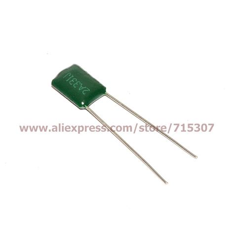 capacitor 100nf poliester aliexpress buy 200pcs of polyester capacitor 100v 330pf 0 33nf 0 00033uf 2a331j