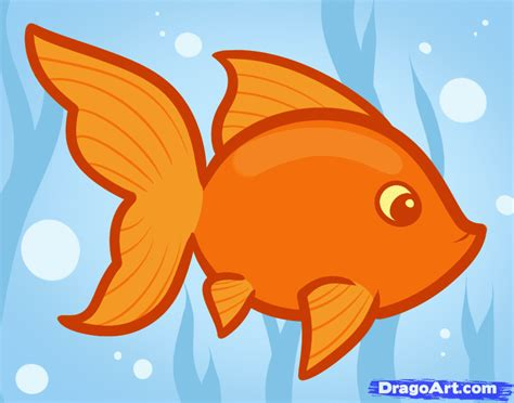 Stelan Gold Fish Kid how to draw a goldfish for step by step animals for for free drawing