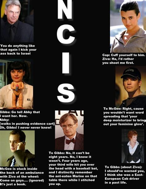 ncis tony funny ncis quotes by kaykic on deviantart