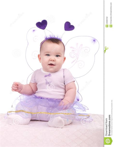 baby purple dress baby in a purple dress stock photography image 23083162