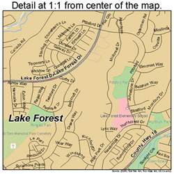 lake forest california map 0639496