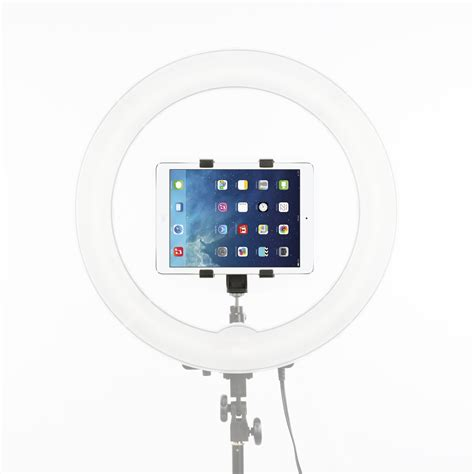 prismatic halo ring light halo ring light tablet accessory by prismatic lighting