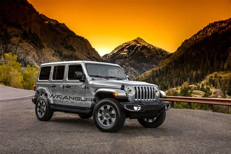 jeep silver new 2018 jeep wrangler color options