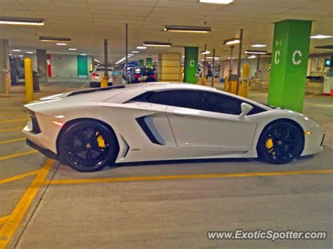 Lamborghini Nj Lamborghini Aventador Spotted In Atlantic City New Jersey