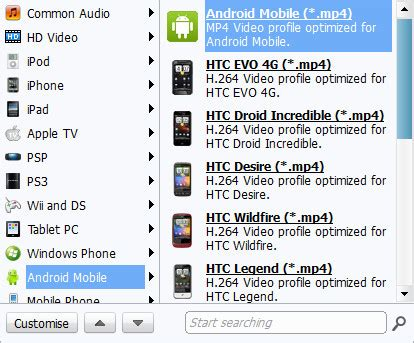 format converter for android how to convert webm to android