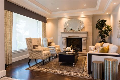 arbutus classic luxury transitional living room