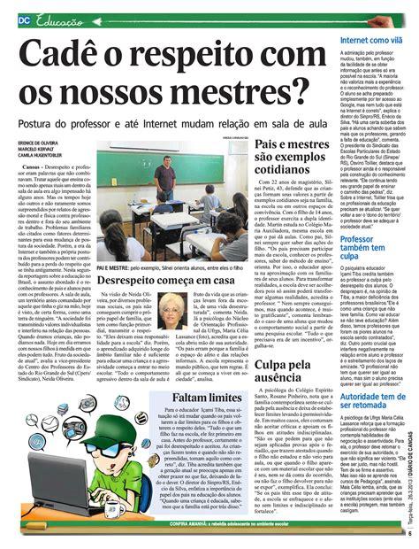 Reportagem Sobre Os Perigos Do by Meninas Da Pedagogia Bras 237 Lia Reportagens