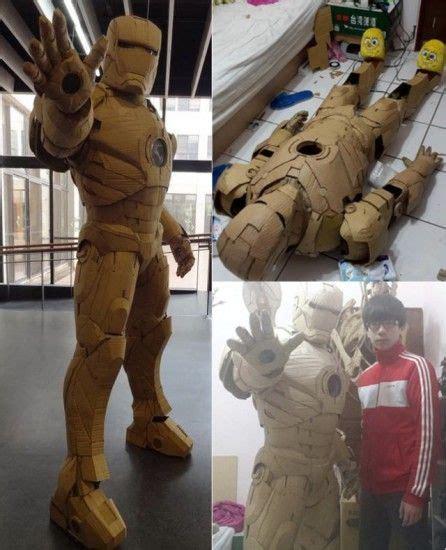 cardboardironman cosplay ideas iron man suit