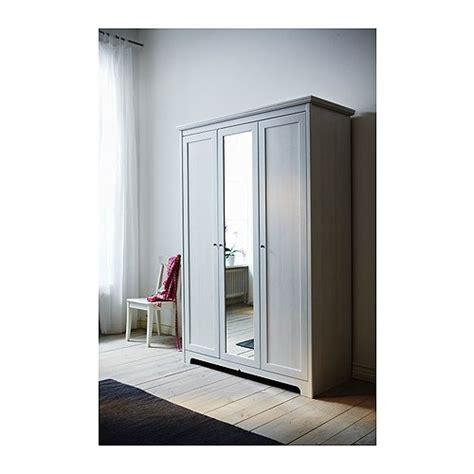 ikea white 3 door wardrobe aspelund wardrobe with 3 doors ikea for the home