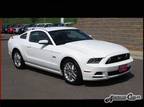 american 2014 mustang gt ford mustang gt premium 2014 voiture d importation