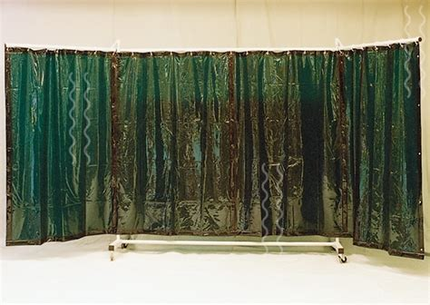 draperies on wheels welding curtains and screens