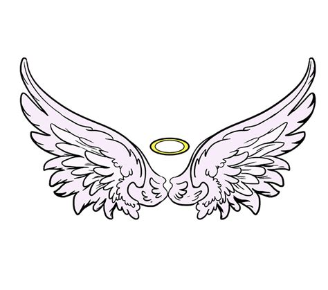 Angel Wings Home Decor by How To Draw Angel Wings In A Few Easy Steps Easy Drawing