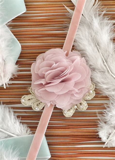 Handmade Wrist Corsage - handmade angelic wrist corsage on luulla