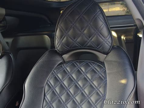Quilted Car Seats by Quilted Type Clazzio Leather Seat Covers