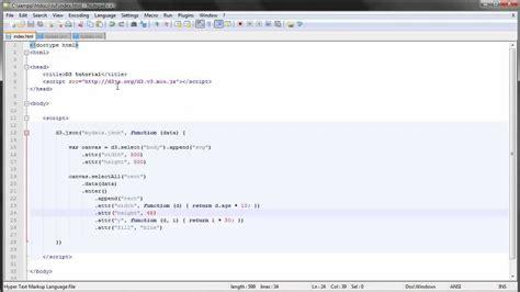 tutorial javascript external d3 js tutorial 10 loading external data youtube