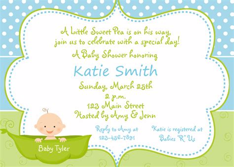 baby shower invitations for boy baby shower invitation ideas invitations template