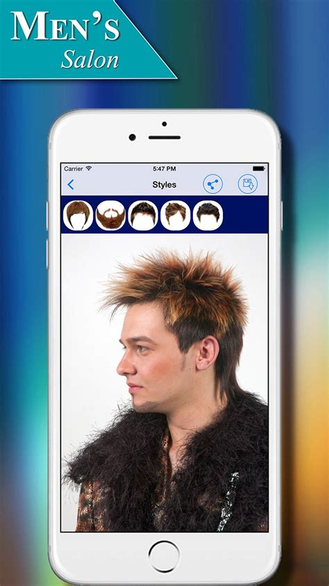 male haircuts app men s salon hairstyles app for ios
