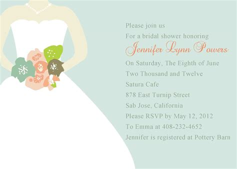 Honeymoon Shower Invitations by Chic Mint Green Wedding Dress Bridal Shower Invitations