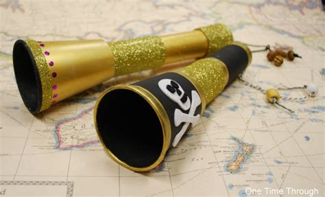 Paper Telescope Craft - 17 best images about pirate and activities on