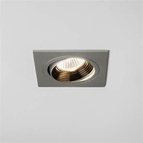 adjustable led recessed lighting astro lighting aprilia single light square design recessed