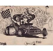 Picture Cars CartoonFOCUS ST 3 Door Cartoon Convertible