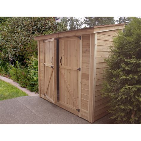 Garden Sheds 8 X 4 by Outdoor Living Today Spacesaver 8 Ft W X 4 Ft D Garden