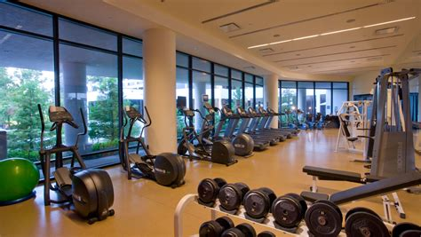 upscale fitness facilities factoring   hotel
