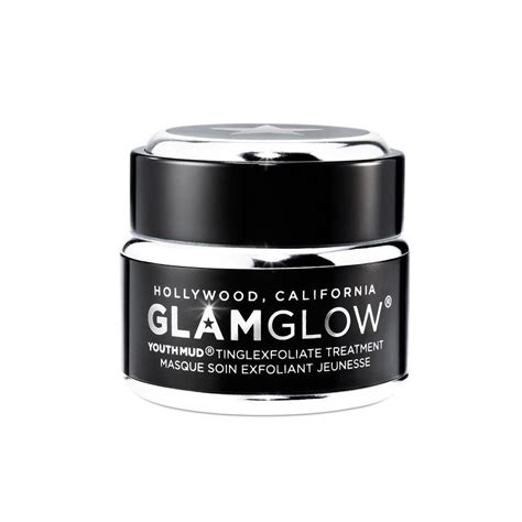 Glamglow Paket Youthmud Tinglexfoliate Treatment Free Brush glamglow youthmud tinglexfoliate treatment 50 g 163 33 95