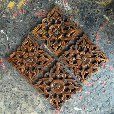 buy set   decorative wood wall sculpture