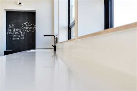 corian benchtop nz corian benchtop with seamless integration of features by