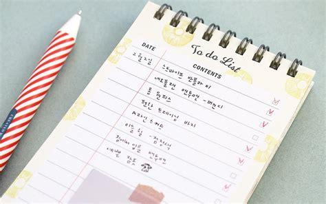 Agenda Notebook By Stationery to do list notebook stationery task list templates