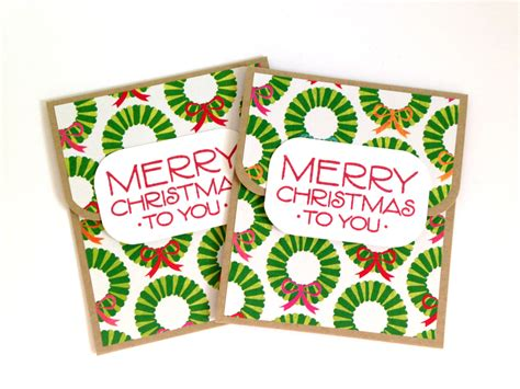 merry christmas gift card holder holiday gift card holder