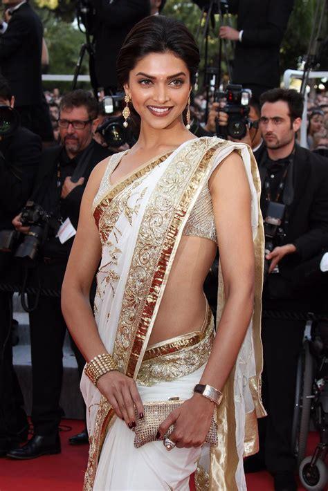 deepika padukone saree actress largest navel cleavage hip waist photo collections
